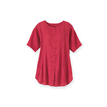 Fabulous Tunic Top - Red