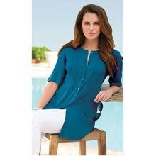 Fabulous Tunic Top - Dark Teal