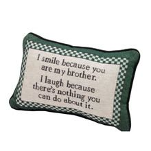 I Smile Pillow - Brother