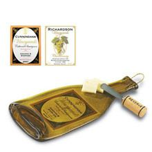 Chardonnay Personalized Winery Cheese Board