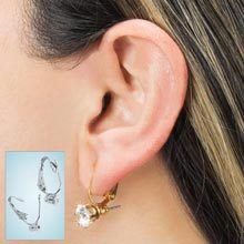 Gold-tone Oh-So-Easy Earring Converter