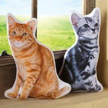 Cat Shaped Pillows
