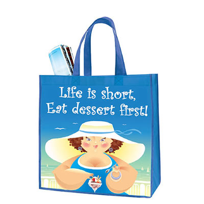 Eat Dessert First Tote