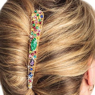 Ornate Bejeweled Hairclip