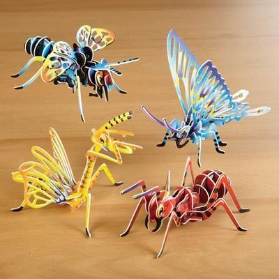 3-D Insect Puzzles Set