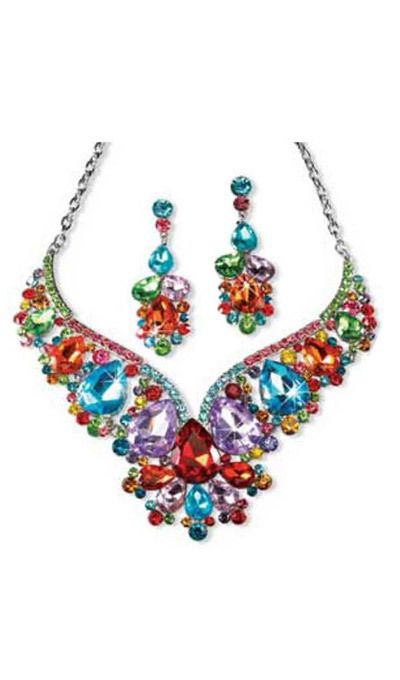 Bejeweled Jewelry Set