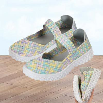 Pastel Comfy Mary Janes