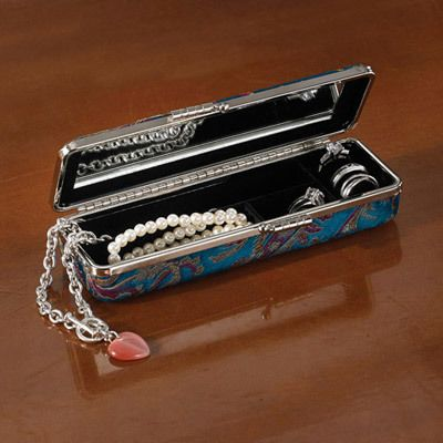Brocade Jewelry Case