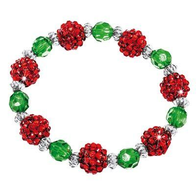 Festive Beaded Stretch Bracelet