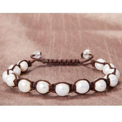 Pearl Knotted Bracelet