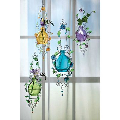 Pastel Glass Rooters - Set of 4