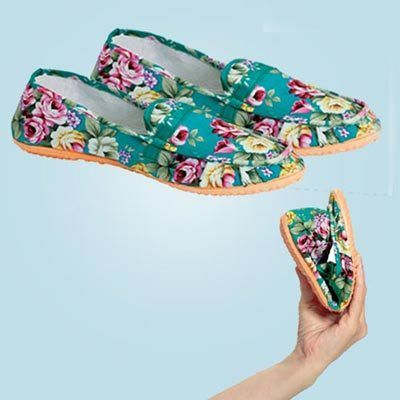 Floral Loafers