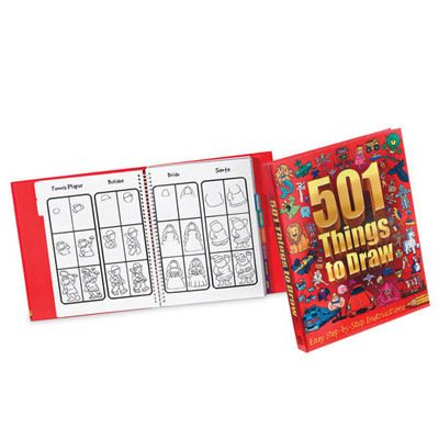 501 Things to Draw Book