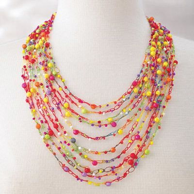 Colorful Confetti Necklace