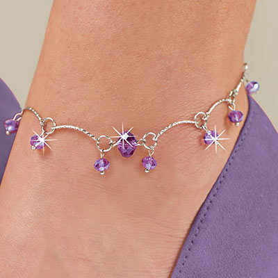 Mystic Beaded Anklet