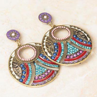 Beaded Southwestern Earrings