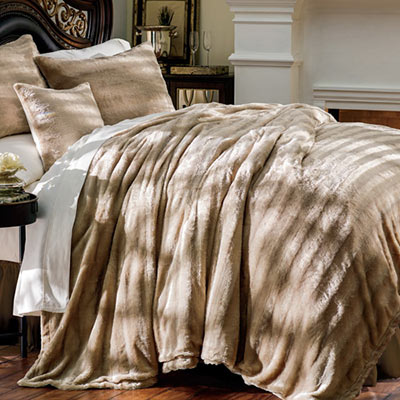 Luxury Faux Fur Bedding