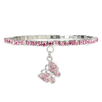 Brilliant Butterfly Anklet