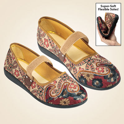 Paisly Comfort Loafers