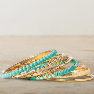 Tranquil Waters Bracelet Set - 8 pc. Set