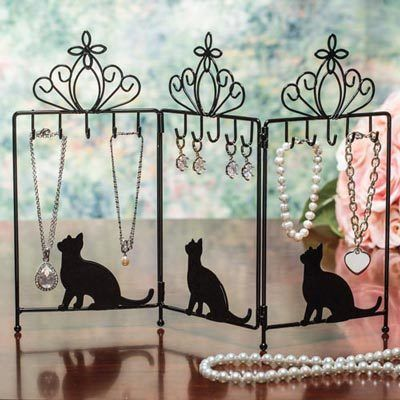 Purr-fect Jewelry Holder