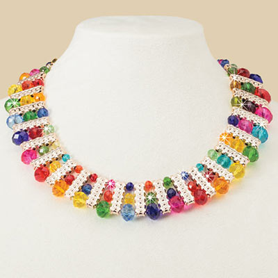 Shimmering Colors Necklace