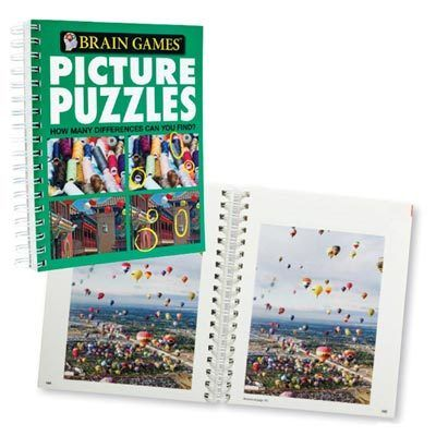 Picture Puzzles Book