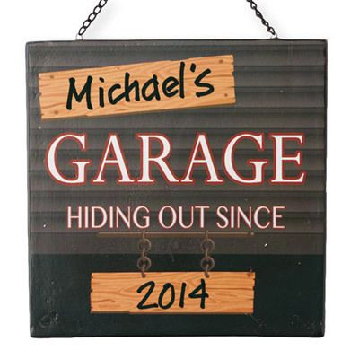 Personalized Hiding Out Plaque