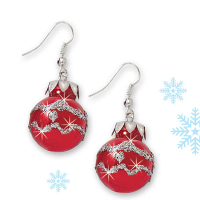 Christmas Ornament Earrings