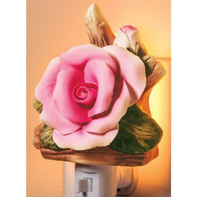 Handcrafted Rose Nightlight