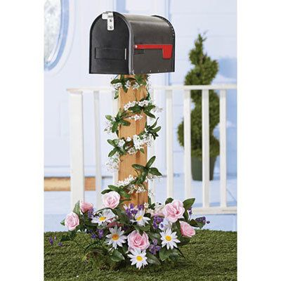 All-Weather Forever Blooms for Your Mailbox