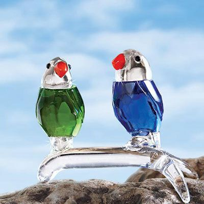 Crystal Colorful Parrots