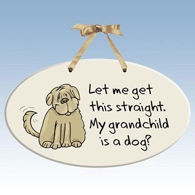 Grandpuppy Plaque