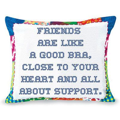 Girlfriend Support Pillow