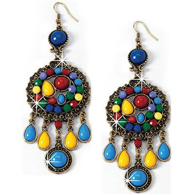 Artisan Colorful Earrings