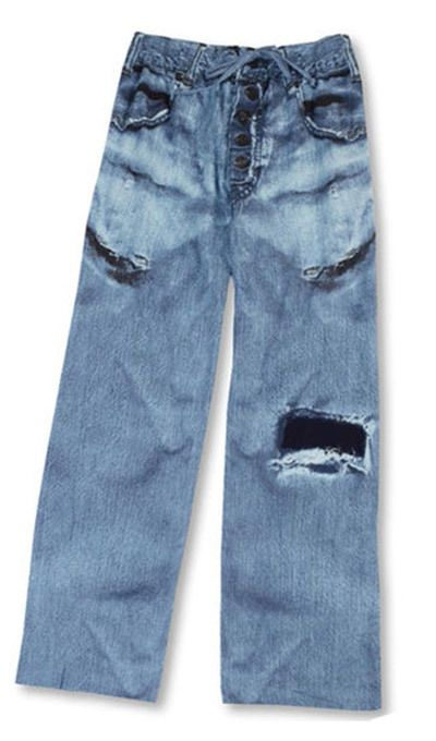 Faux Jeans Lounge Pants