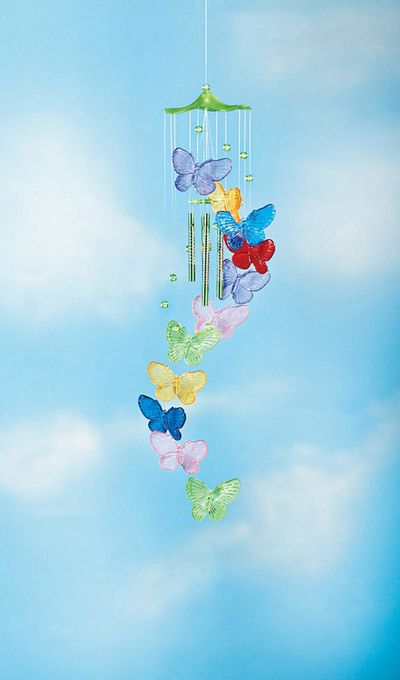 Colorful Butterfly Chime