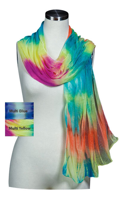 Tie-Dyed Scarf