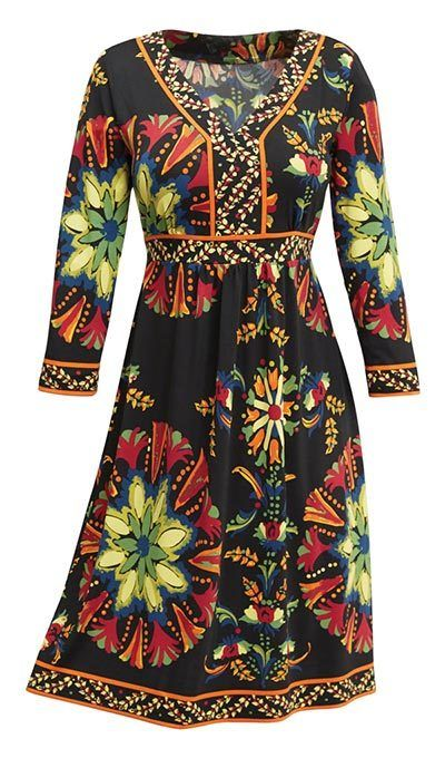Colorful Expressions Dress