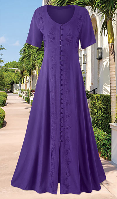 Purple Passion Party Dress