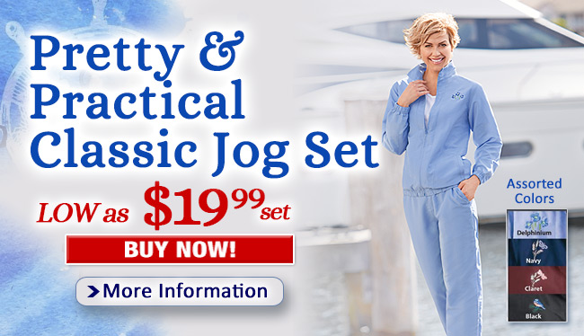 Pretty & Practical Classic Jog Set